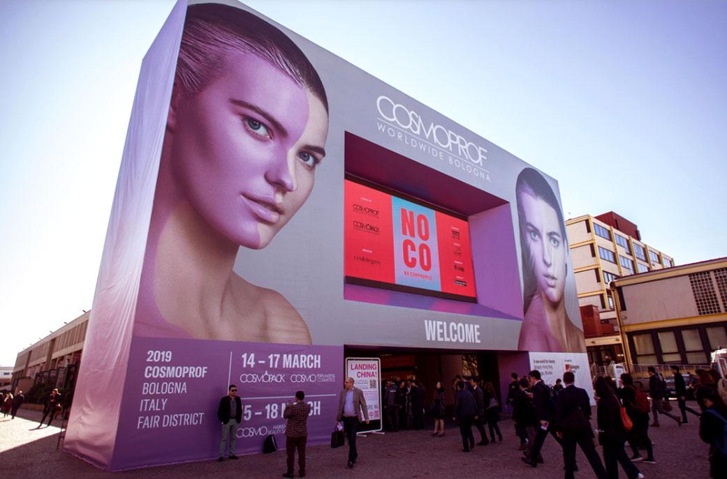 COSMOPROF Bologna 2020 Космопроф Болонья выставка косметики индустрии красоты - OBICONS